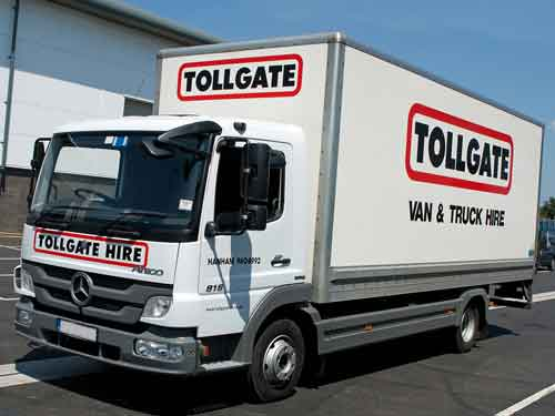 Tollgate Hire Bristol's van hire, truck hire, car hire and minibus hire centre
